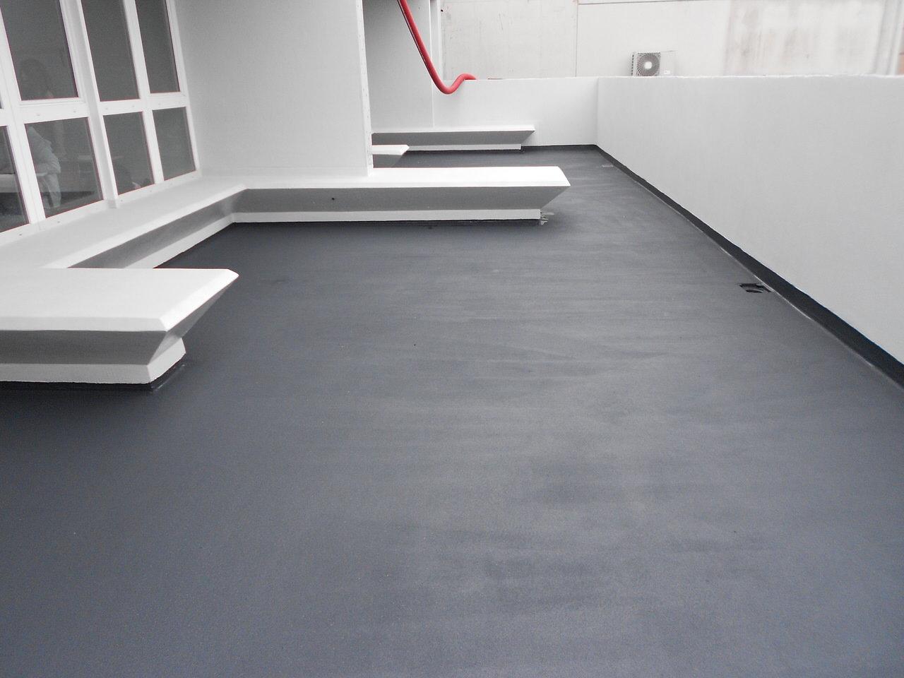 Impermeabilizzazione in resina per terrazzi la resina di - Impermeabilizzazione terrazzi esistenti ...